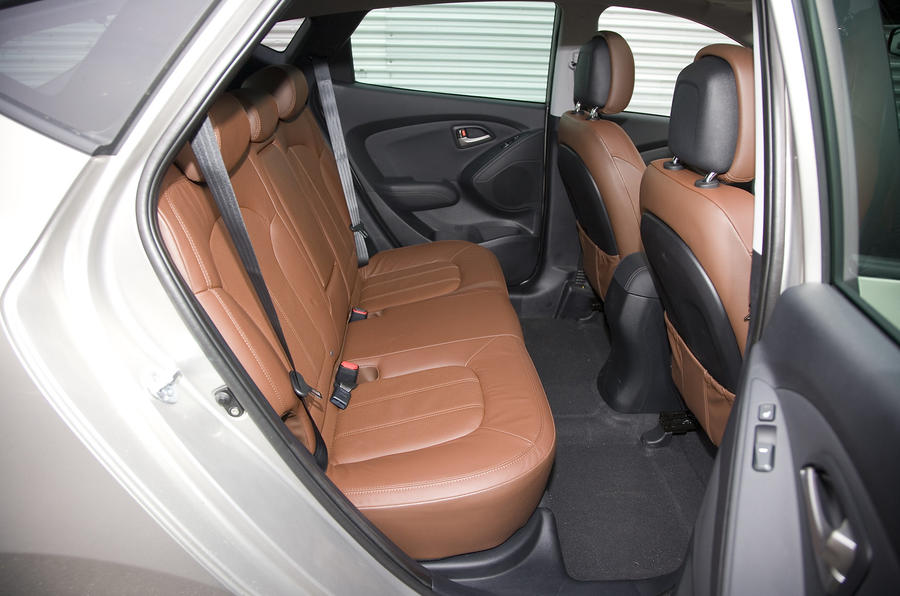 Hyundai ix35 rear seats
