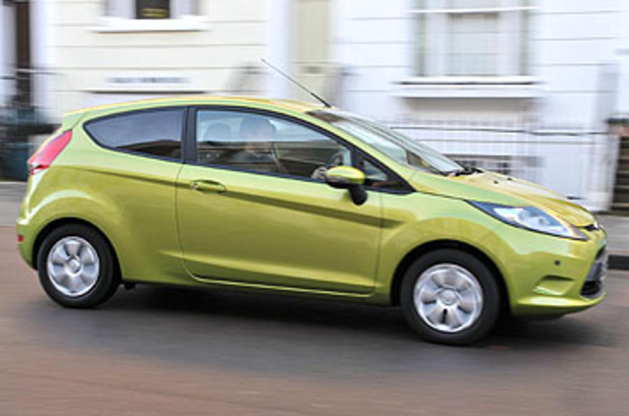 Ford Fiesta Econetic 1.6 TDCi