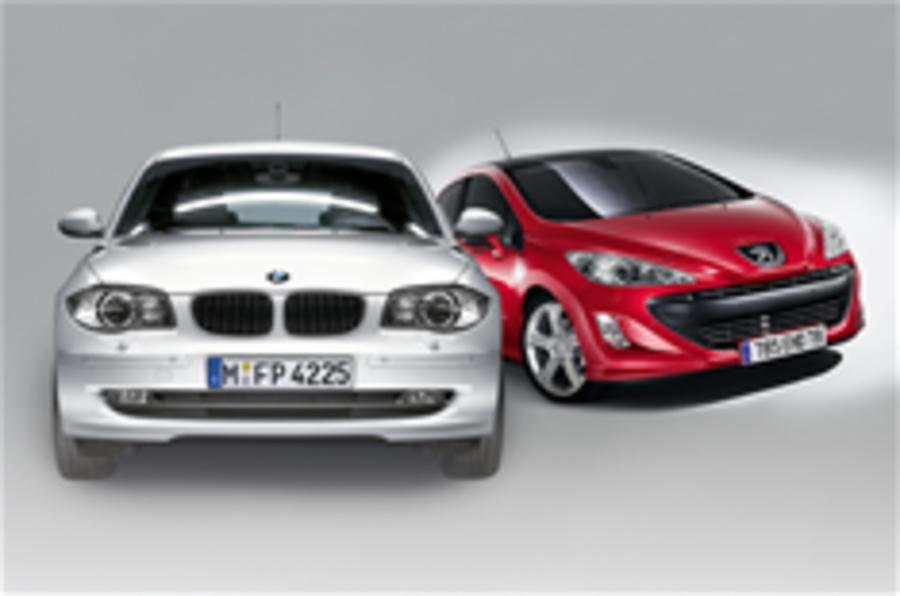 BMW/PSA's front-drive 1-series