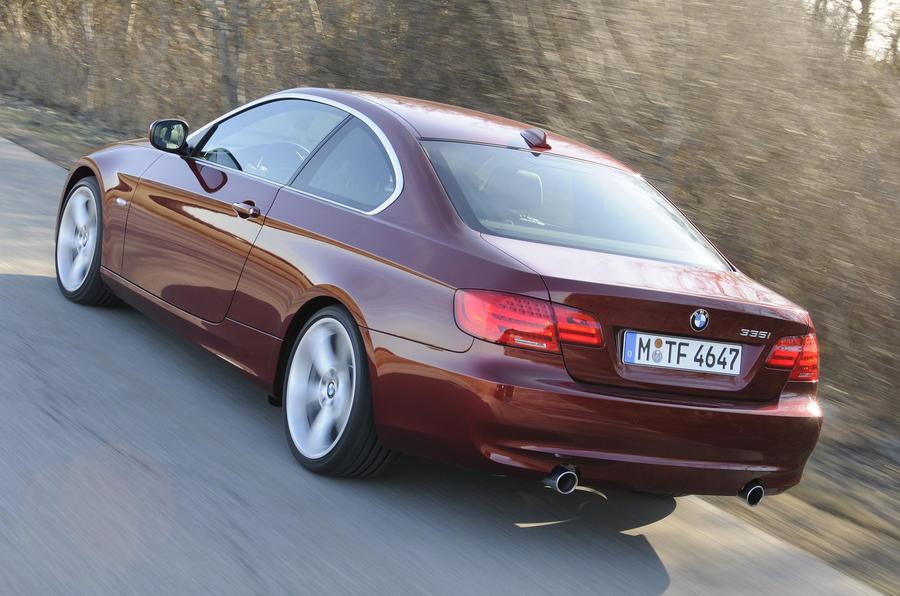 BMW 335i SE Coupe rear