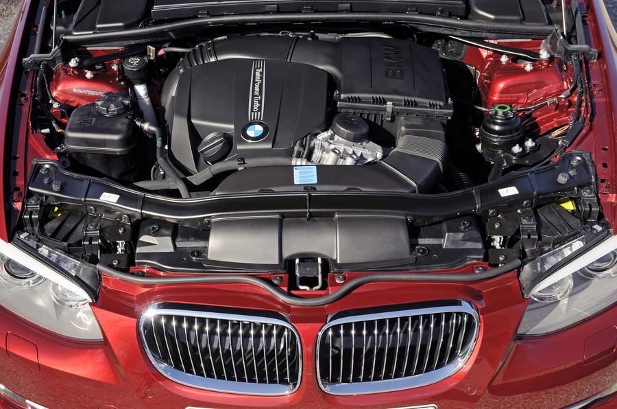 3.0-litre BMW 335i engine