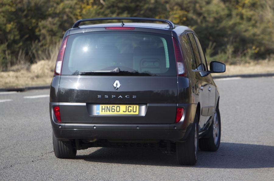 Renault Espace rear quarter