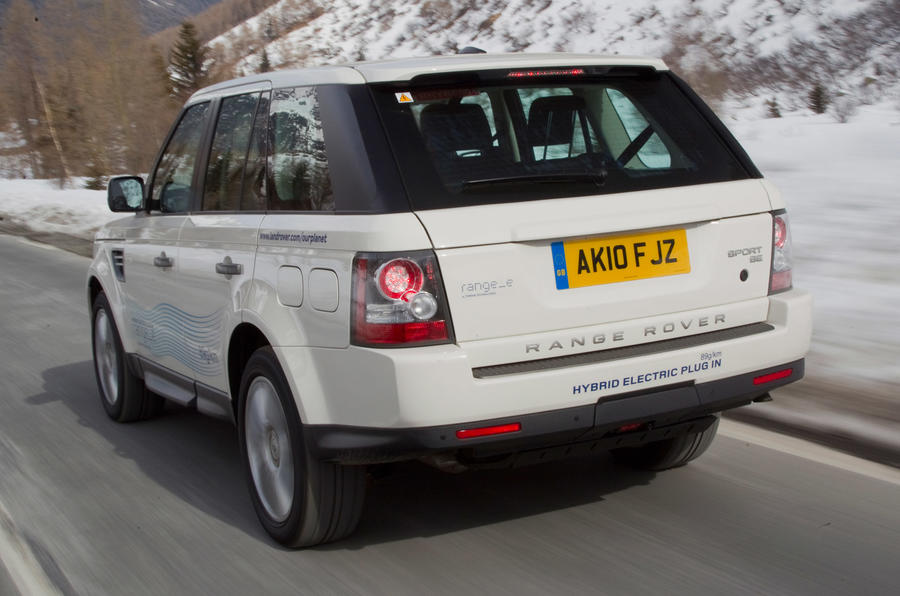 Land Rover Range_e rear