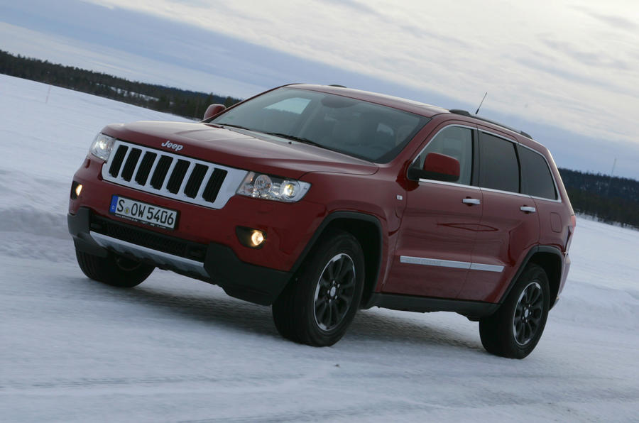 Jeep grand cherokee v6 review