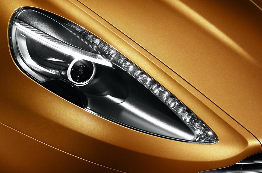 Aston Martin Virage headlight
