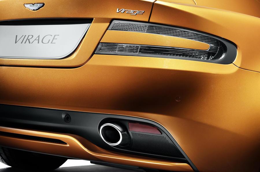 Aston Martin Virage rear diffuser