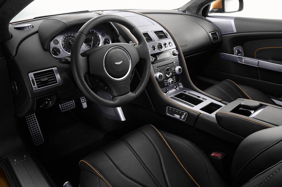 Aston Martin Virage dashboard