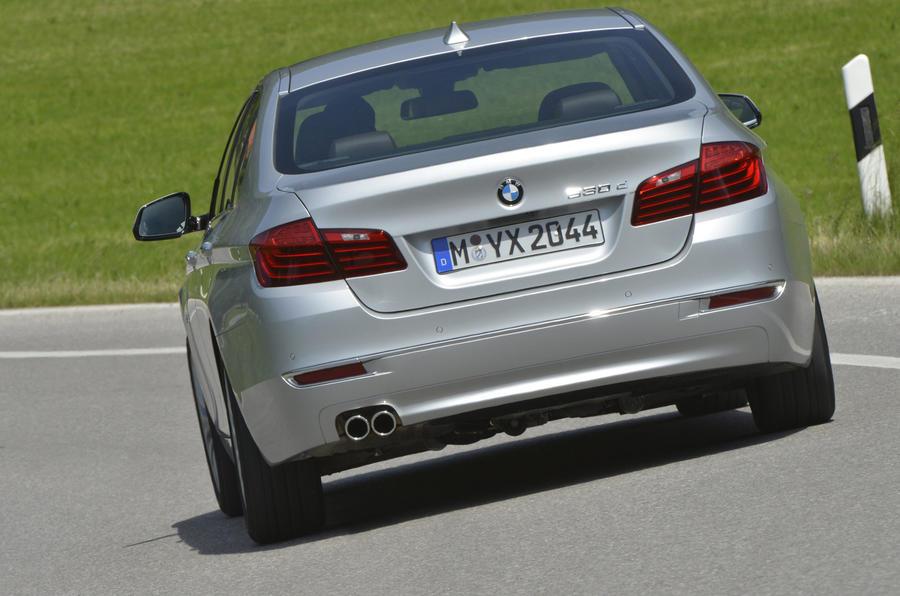 BMW 530d Luxury rear