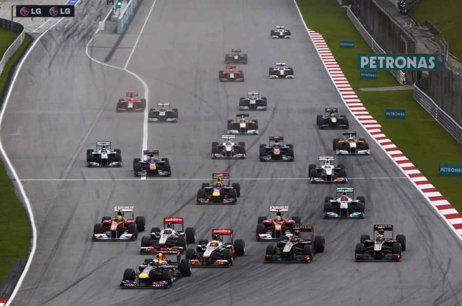 Vettel's Malaysian GP win in pics