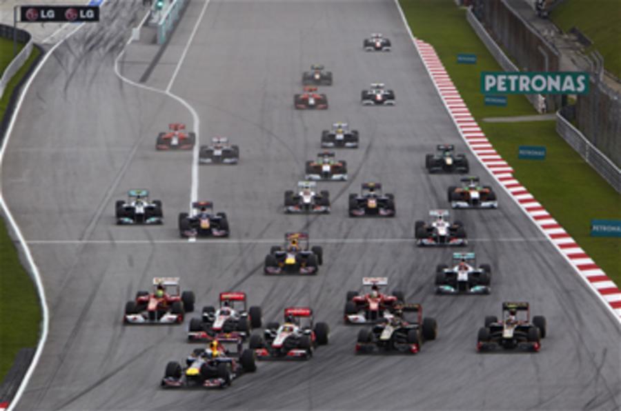 EU wants F1 to promote EVs