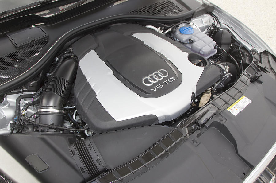 Audi a6 3 0 bitdi quattro review autocar for Audi a6 motor oil