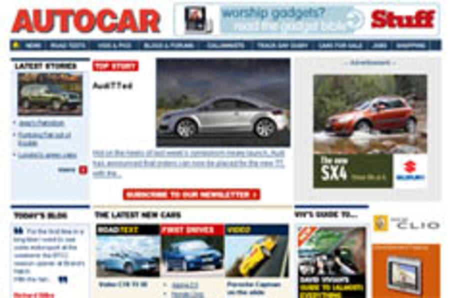 Autocar.co.uk problems - an update