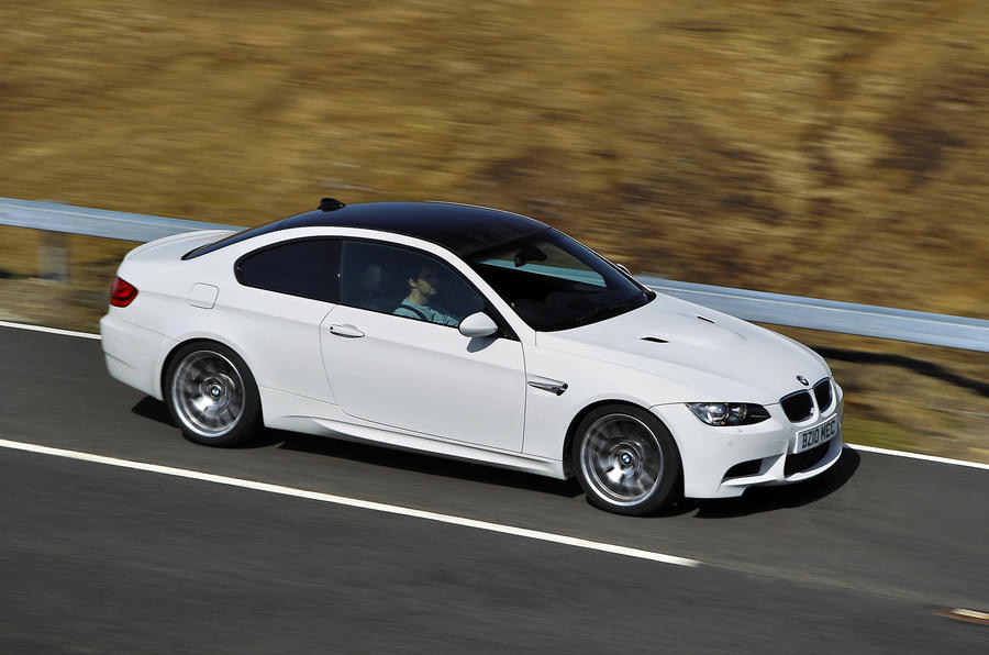 BMW M3 Competition Pack side profile