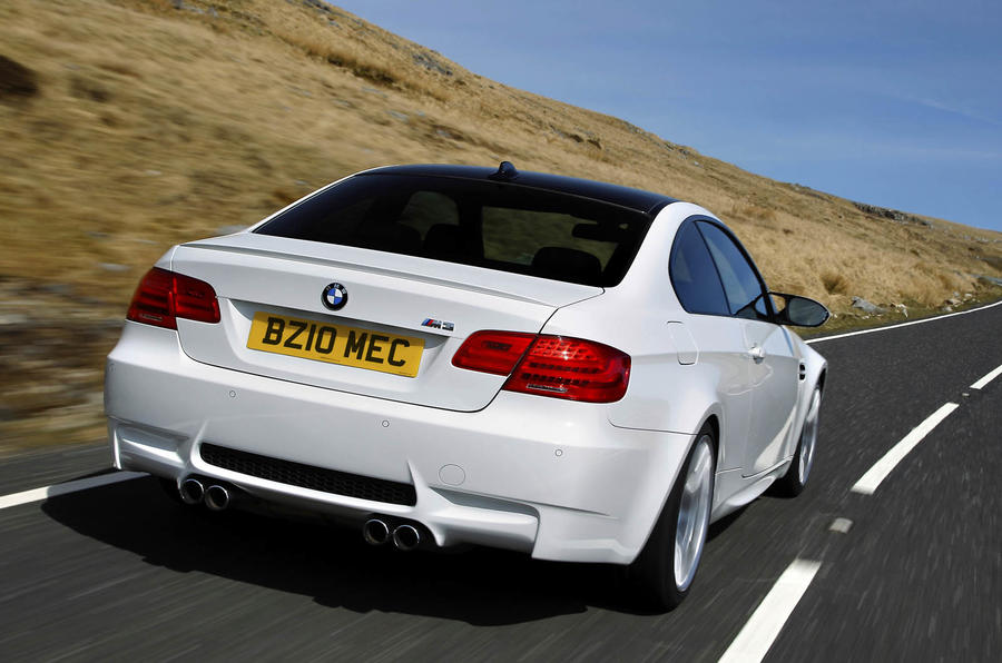 BMW M3 Competition Pack rear end