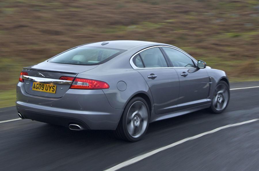 Jaguar XF rear