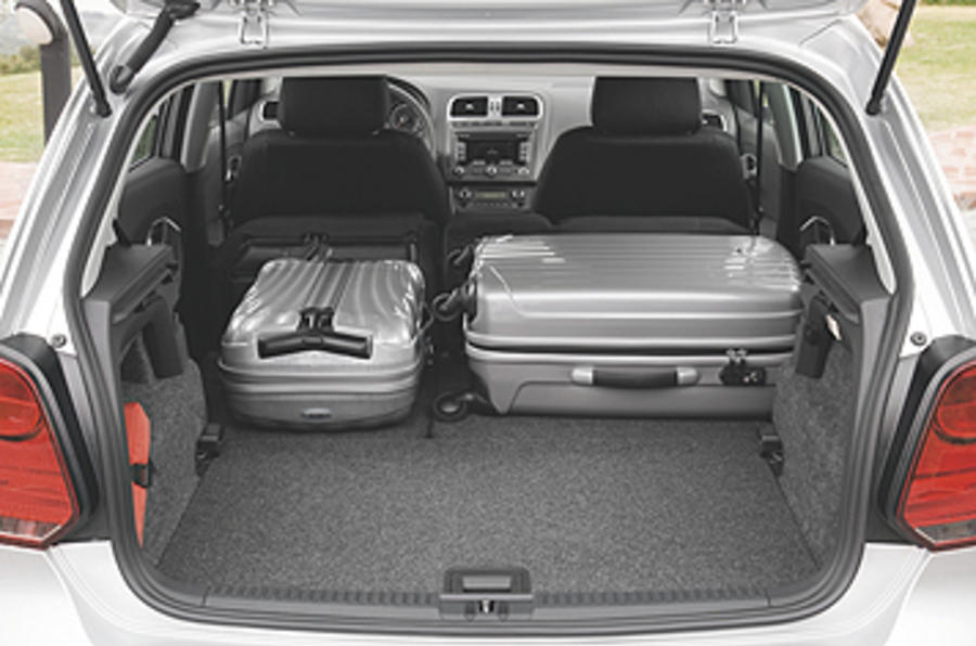 Volkswagen Polo boot space