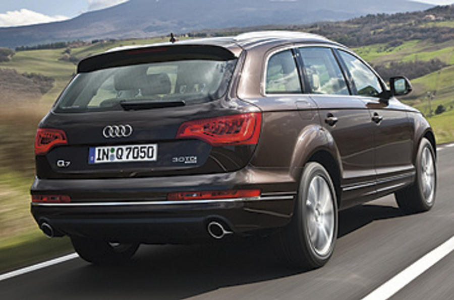audi q7 3 0 tdi clean diesel review autocar. Black Bedroom Furniture Sets. Home Design Ideas