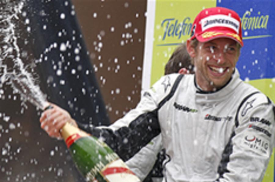 Photo gallery: Button's F1 win