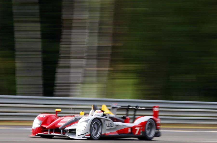 Peugeot takes Le Mans pole
