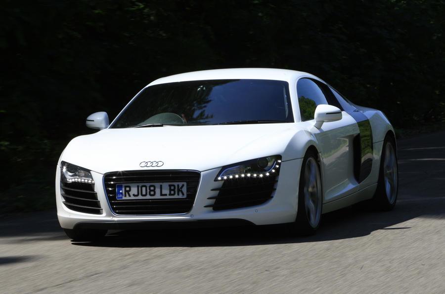 Audi R8 V8 supercharged