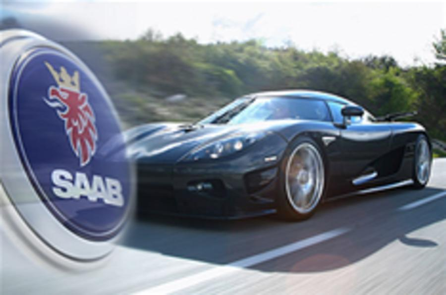 Koenigsegg 'to buy Saab'