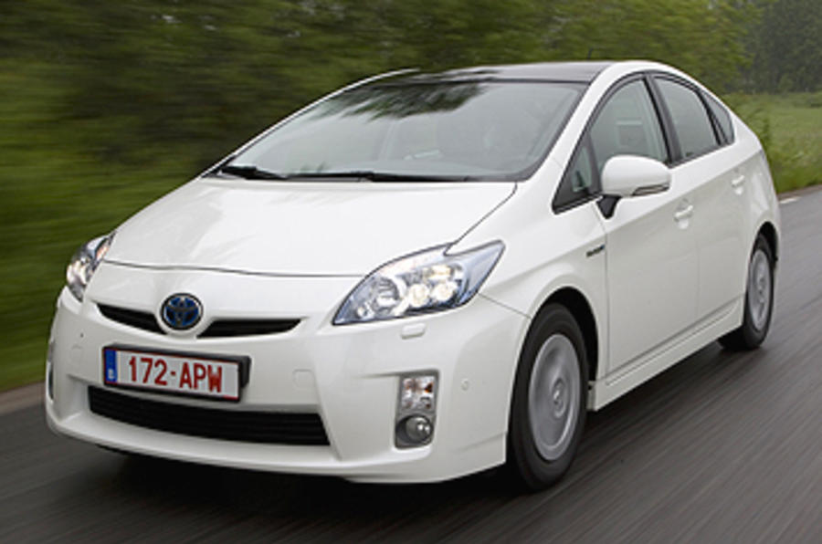 Toyota Prius front end