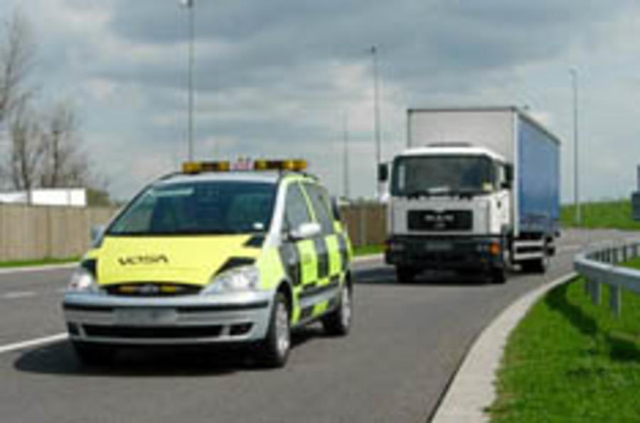 Clampdown on dodgy lorries