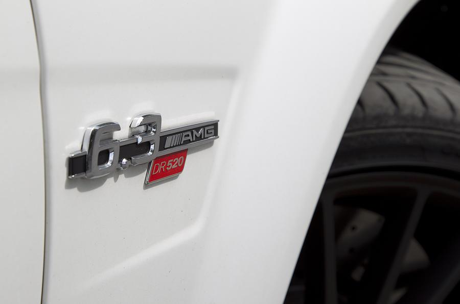 Mercedes-AMG C 63 DR520 badging