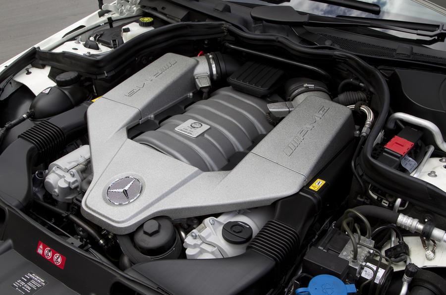 6.3-litre Mercedes-AMG C 63 DR520 engine