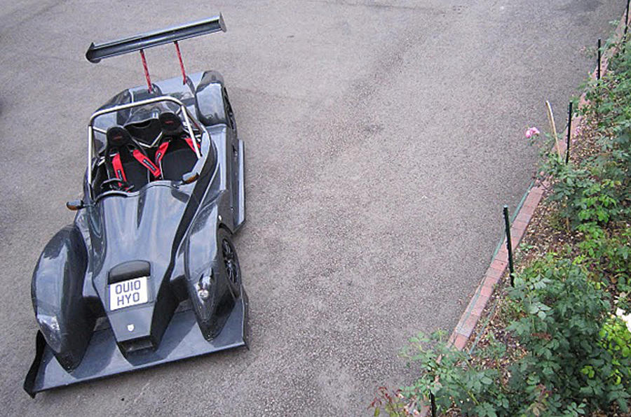 Reynard's 440kg road car