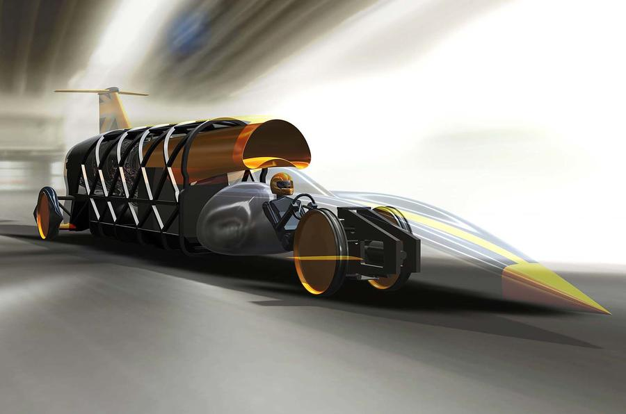 1000mph car team 'to share tech'