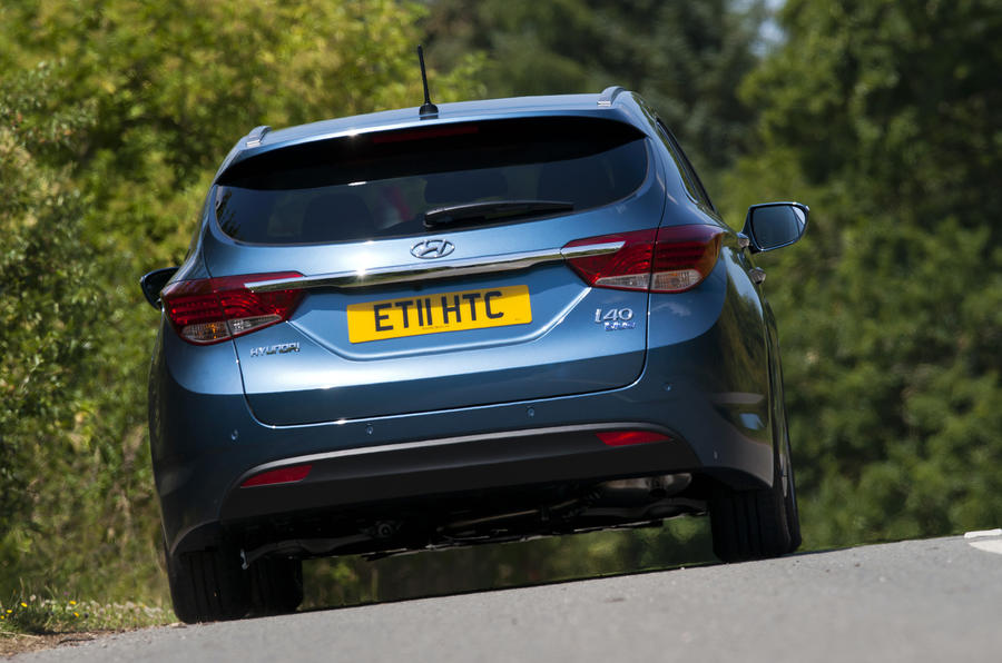 Hyundai i40 Tourer rear