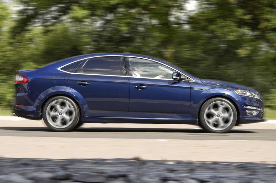 Ford Mondeo Titanium X Sport side profile