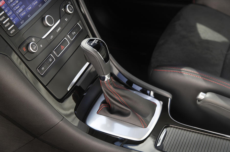 Ford Mondeo Titanium X Sport powershift gearbox
