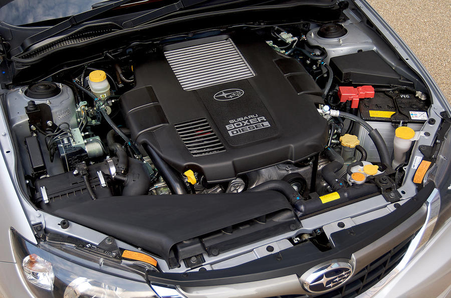 2.0-litre Subaru Impreza diesel engine