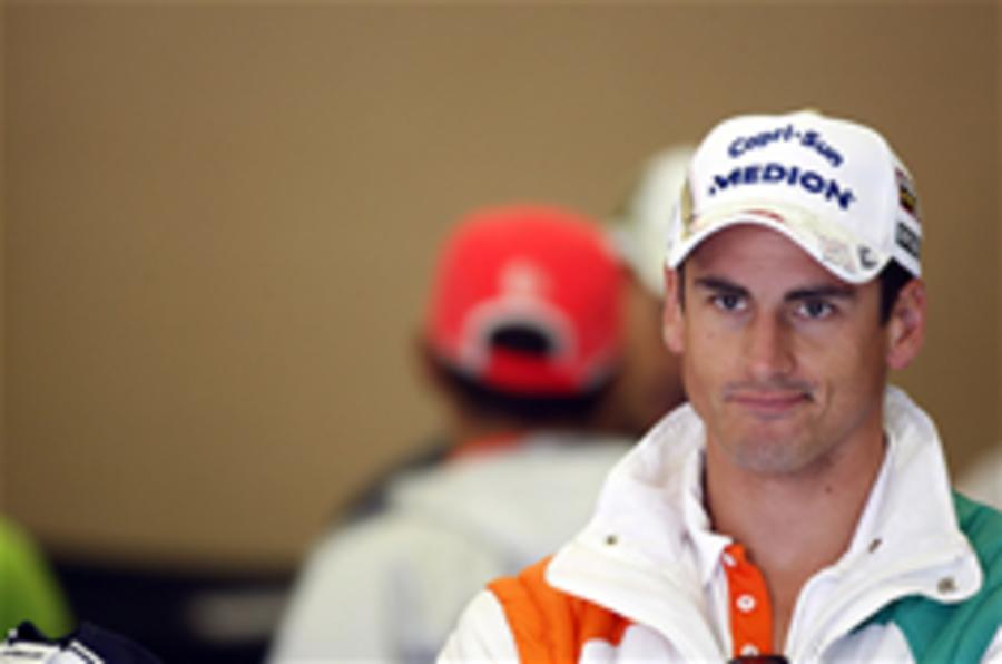 Sutil tops Monza F1 practice