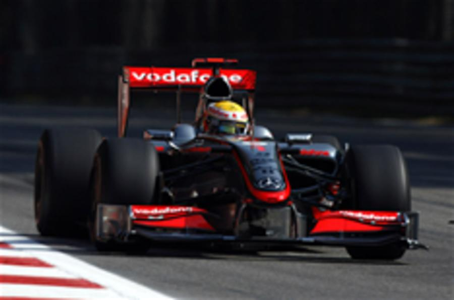Hamilton takes F1 Monza pole