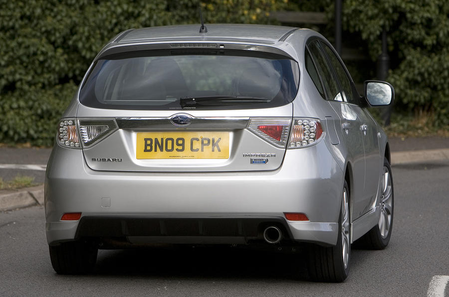 Subaru Impreza rear
