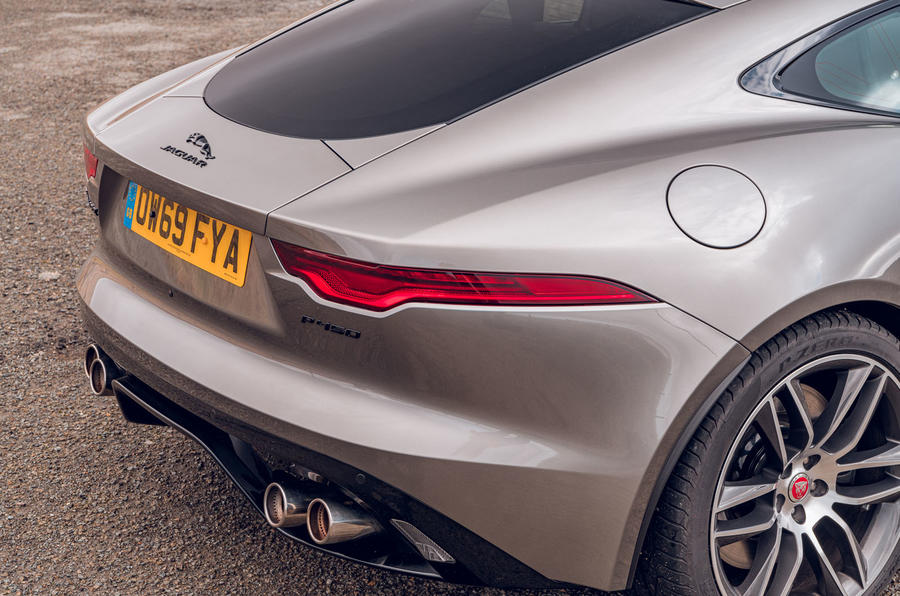 Jaguar F-Type 2020 road test review - rear end