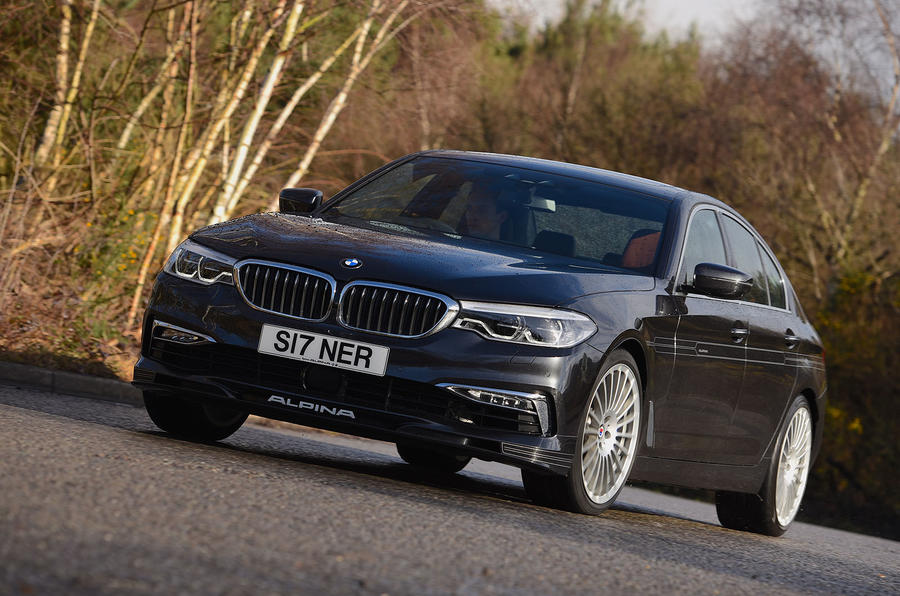 Alpina D5 S review cornering