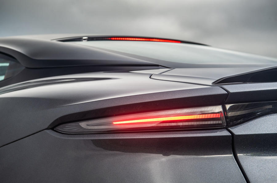 Aston Martin DBS Superleggera 2018 road test review - rear lights