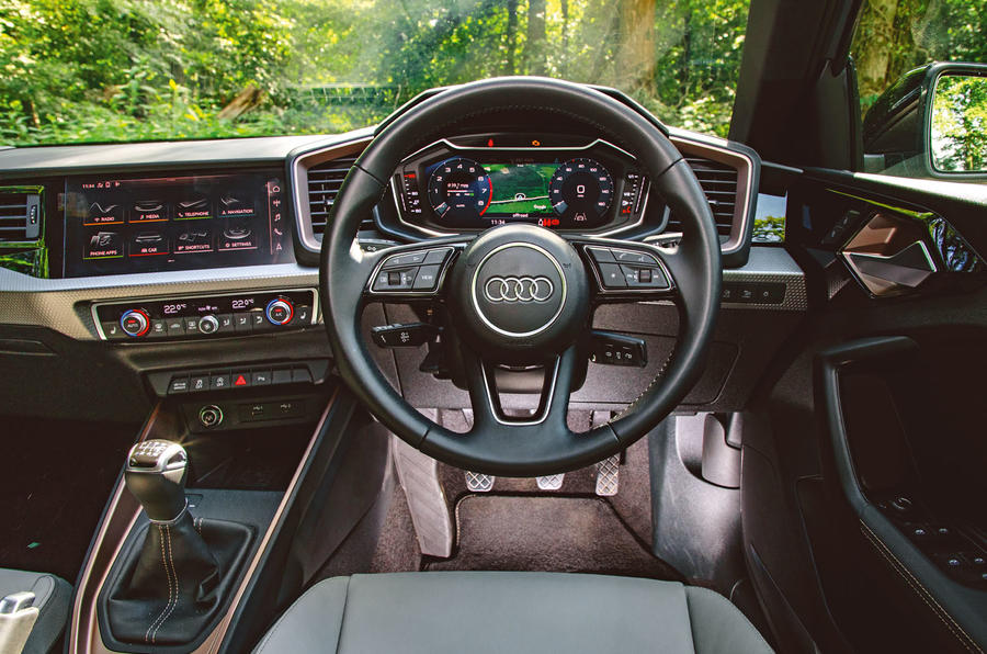 Audi A1 S Line 2019 road test review - dashboard