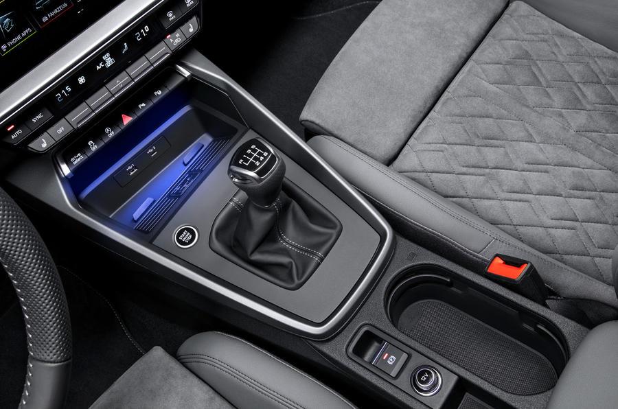 Audi A3 Sportback 2020 road test review - centre console