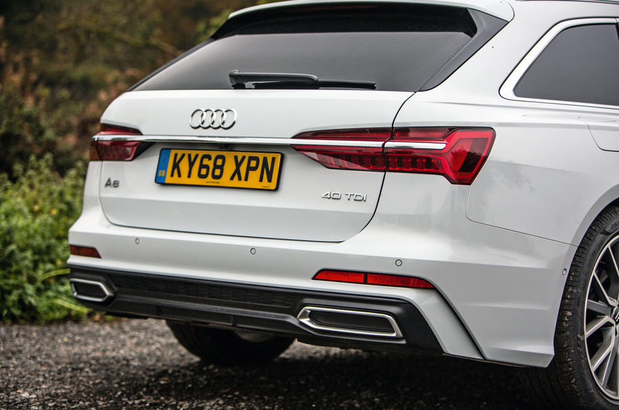 Audi A6 Avant 2018 road test review - rear end