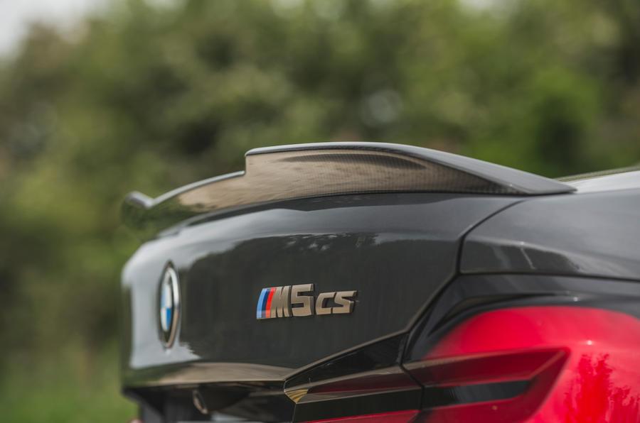 12 BMW M5 CS 2021 RT spoiler