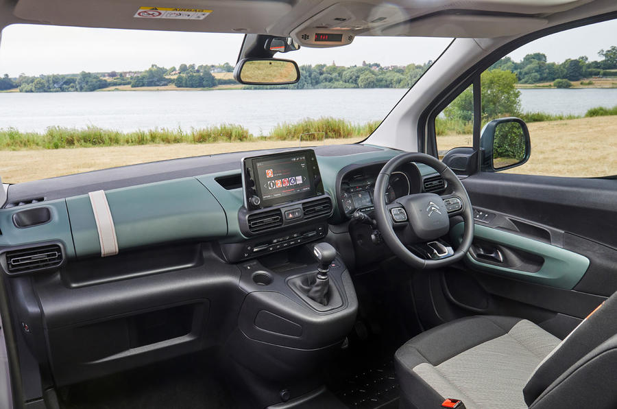 Citroen Berlingo 2018 road test review - dashboard