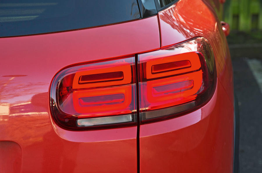 Citroen C5 Aircross 2019 road test review - rear lights