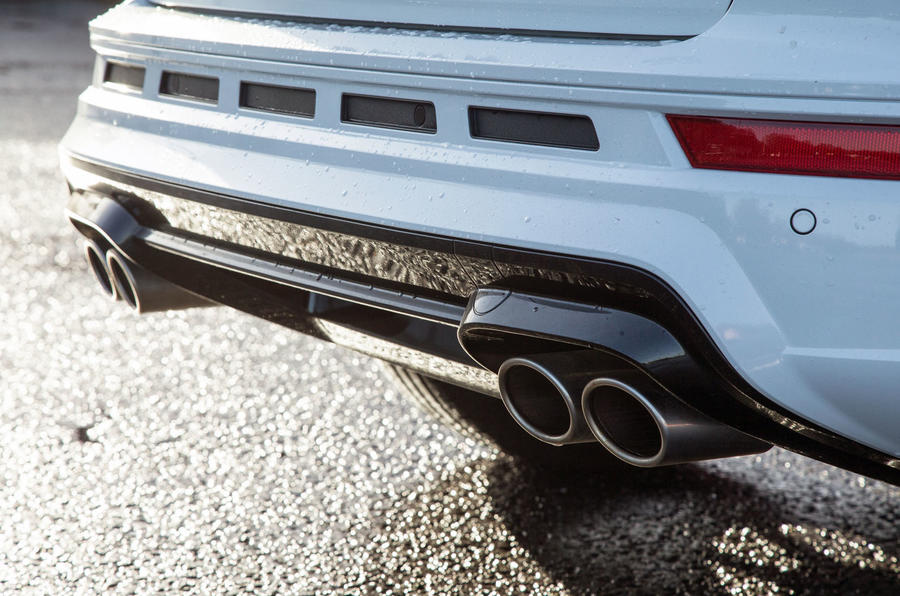 Cupra Ateca 2019 road test review - rear bumper