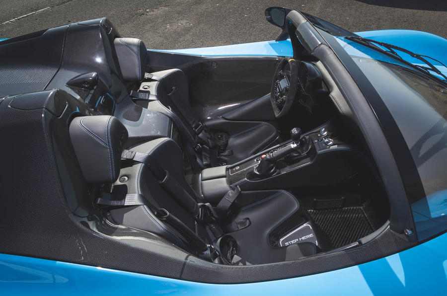 Dallara Stradale 2019 road test review - seats
