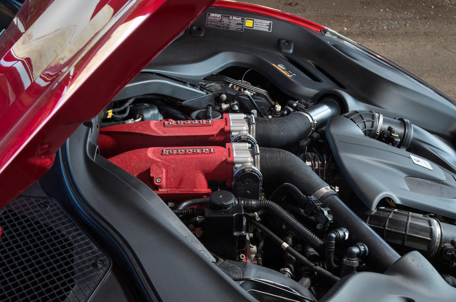 Ferrari Portofino review engine
